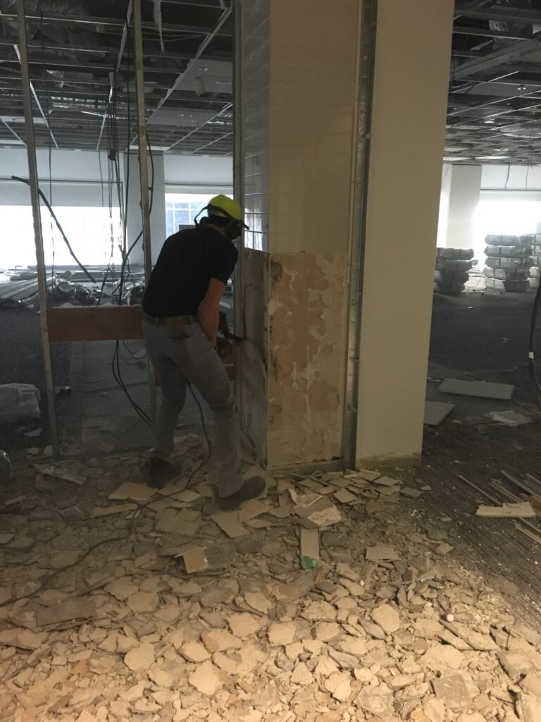 Heritage Design Commercial Tile Removal