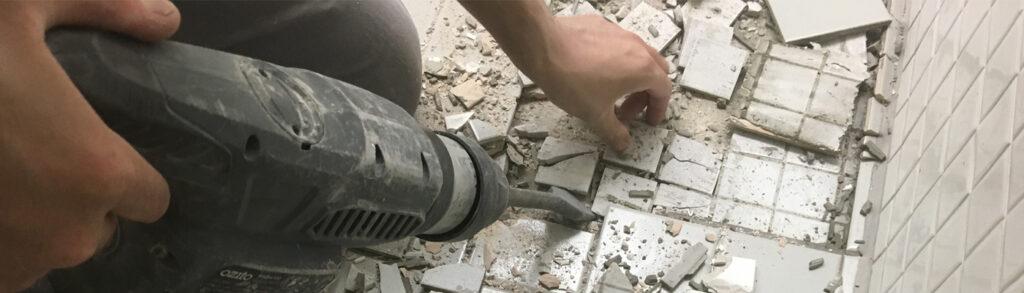 Heritage Design Tile Removal